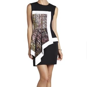 BCBG Max Azria Alessandra Sleeveless Print Dress 2